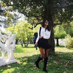good things take time  #padova | shirt & skirt @korallineofficialpage @korallineofficialpage @studiofanfanipr #Koralline #SFpressoffice |