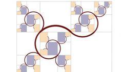 "geometricloci: "" The golden ratio has spawned a beautiful new curve: the Harriss spiral Inspired by the golden ratio, mathematician Edmund Harriss discovered a delightful fractal curve that no one had. Math Art, Fun Math, Maths, Fractal Design, Fractal Art, Spiral Drawing, Spirals In Nature, Sets Math, Spiral Math"