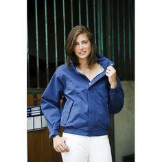 "Giacca Equi-thème ""LOX-ER summer"" unisex per equitazione, molto attuale questa giacca impermeabile in microfibra di poliestere."