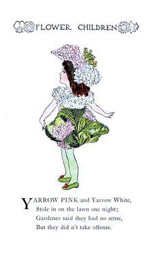Flower Children By Elizabeth Gordon Vintage Reproduction Photo Print No # 57 of 84 by A4Printsuk on Etsy