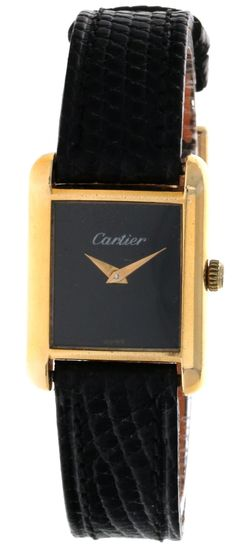 CARTIER TANK Cartier Tank, Pre Owned Watches, Luxury, Stuff To Buy, Accessories, Ornament