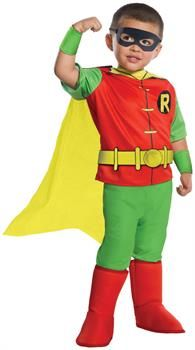 PartyBell.com - DC Comics - Robin Deluxe Toddler Costume