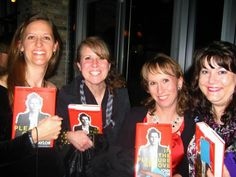 """Friends of Mine"" because of the music between us!  John Taylor book signing in Chicago (October 2012)."