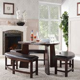 Found it at Wayfair - Mikayla 4 Piece Dining Set