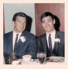 Van Williams with Bruce Lee