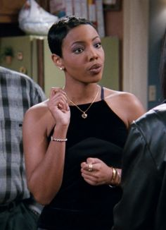 Black 90s Fashion, Hip Hop Fashion, Flower Girl Hairstyles, Afro Hairstyles, Updo Hairstyle, Haircuts, Pretty Black Girls, Beautiful Black Women, Kellie Shanygne Williams