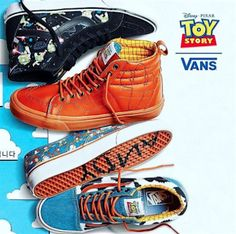 Disney Collaborates With Vans To Produce Toy Story Sneakers Collection