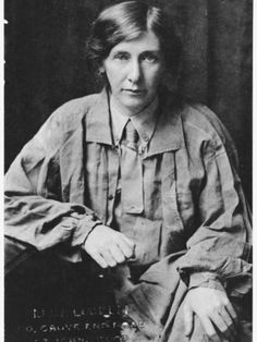 Cicely Hamilton Suffragist activist and writer.  'Diana of Dobsons' discussed the living conditions of shop girls, in contrast to their more glamorous personae in musical theatre, and 'A Pageant of Great Women', celebrated amazing women throughout history.