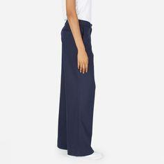 Everlane | The Premium Wool Flannel Full Leg Pant
