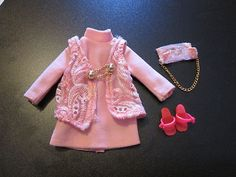 Vintage Pedegree Sindy Trendy Girl TG discotheque complete outfit 1970