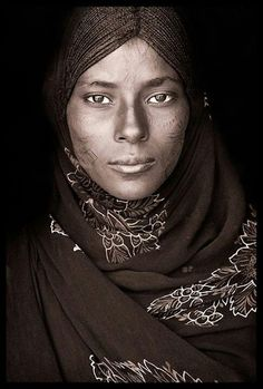 Tuareg woman. The Tuaregs of Algeria are part of a larger group of Berber-speaking Tuaregs. They are nomads who raise cattle and live in an area that stretches across North Africa. This territory extends from Western Sahara to the northern portion of Western Sudan.