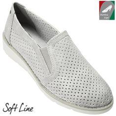 Jana Soft Line cipő 8-24665-20 204 világosszürke