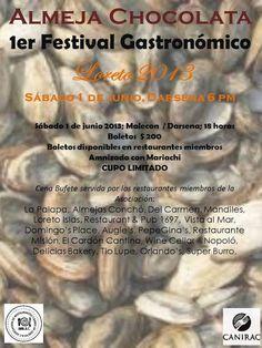 Se prepara Festival de la Almeja Chocolata en Loreto
