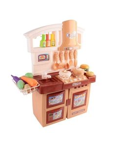kitchen pretend play set orange from Kitchen Appliances Buy Now Pay Later