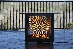 Order the Victorian Flatpack Fire Feature direct from the artist!