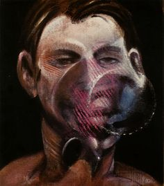 FRANCIS BACON - PORTRAIT OF PETER BEARD - KUNZT.GALLERY http://www.widewalls.ch/artwork/francis-bacon/portrait-of-peter-beard/ #Print
