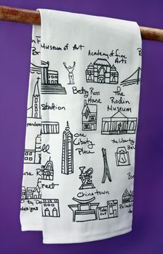 Thrilled to see this pinned so many times! A favorite gift item #philly!