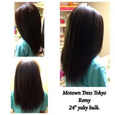 Crochet Real Hair : Motown Tress Tokyo Remy straight hair crochet braids. This hair is 100 ...