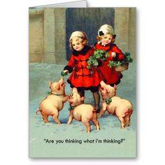 Bacon Christmas Card. Too funny. lol.