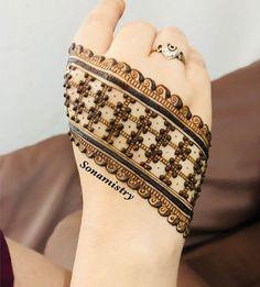 Henna Hand Designs, Modern Henna Designs, Latest Henna Designs, Floral Henna Designs, Henna Tattoo Designs Simple, Mehndi Designs For Beginners, New Bridal Mehndi Designs, Latest Mehndi Designs, Mehndi Designs For Hands
