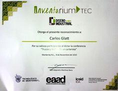 Inventarium Tec, Conferencia Trucos y mañas de un carterista - Noviembre 2010