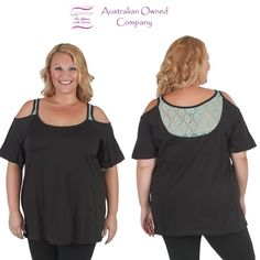 A little bit of lace top from #Curvaceousclothing# #plussize# #top# Sizes 18 to 28