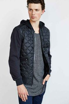 Feathers Cano Quilted Jacket