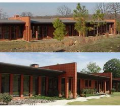 The article about Taylor's house was in some architectural blog.  The house was built in 1996 by Stephen Turner.  He never finished it really because it was basically a shell with very few rooms. When Taylor bought it in 2005 he had more bedrooms finished and  planted gardens around the home.  attached is a comparison photo  from 2001 and 2010 - picture is from Hanson family photo dump on tumblr