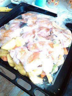 """""""Csak úgy, mint otthon"""": Zöldséges csirkeszárnyak zacskóban sütve"""