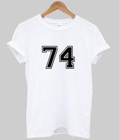 74 t shirt
