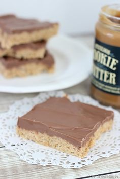 Blog post at The Taylor House : Have you heard of the delicious Trader Joe Cookie Butter? I know there are so many different recipes that bloggers are using it in around [..]