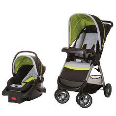 Safety 1st Amble Quad Travel System w/ onBoard 22 Infant Car Seat TR321CYT