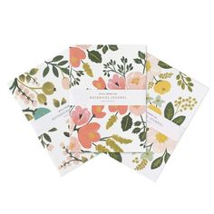 eu.Fab.com | Botanical Journals Set Of 3
