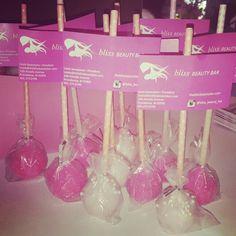 Cake pops for bliss beauty bar opening www.facebook.com/carinaedolce www.Carinaedolce.com #carinaedolce Bliss Beauty, Beauty Bar, Cake Pops, Facebook, Cakepops, Esthetician Room, Cake Pop