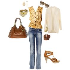 It's Casual Friday!! Day to Date night =), created by chelecegtim on Polyvore