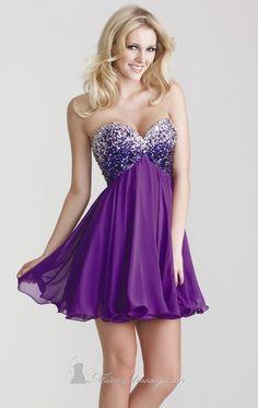 short purple (prom?) dress -- $318.00