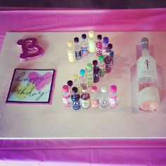 For my friend, Brittany's, 21st birthday. <3 how it turned out!