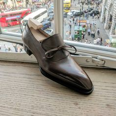 Many request for this Besttetti loafer in another angle….Here you go… . (at Piccadilly Circus)