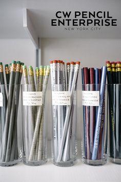 A visit to NYC's CW Pencil Enterprise shop.