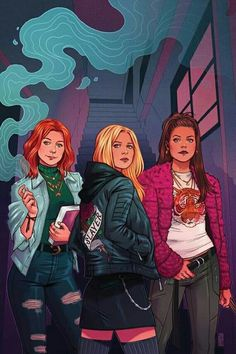 Variant cover art by Jen Bartel for 'Buffy The Vampire Slayer' published January 2019 by Boom! StudiosVariant cover art by Jen Bartel for 'Buffy The Vampire Slayer' published January 2019 by Boom! Character Inspiration, Character Art, Character Design, Fangirl, Boom Studios, Hq Marvel, Buffy Summers, Planet Of The Apes, Sarah Michelle Gellar