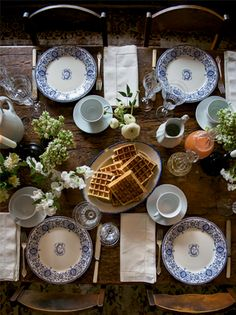 RUSTIC CHARM // We Took to the Woods elevates a spring brunch with French country inspiration