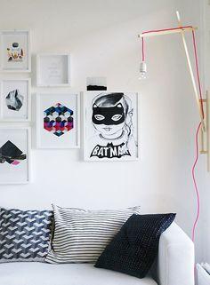 Interior Design Wall Light/Lamp Fixture Poster Mini & Maximus via http://www.lalagh.com/#!design/c16ci