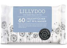 LILLYDOO Feuchttücher | Sanft - Reinigend - Umweltfreundlich
