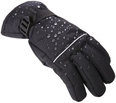 Tough Outdoors Winter Snow & Ski Gloves  Designed for Skiing Snowboarding Shredding Shoveling & Snowballs  Waterproof & Windproof Shell & Reinforced Palm  Fits Men Women & Kids http://ift.tt/2kBRGJD