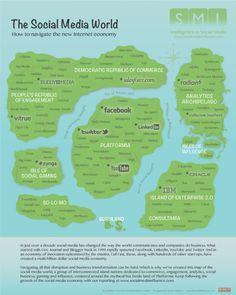 The SMI Social Media Economy Map
