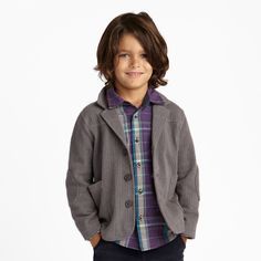 love this jacket for little boys and how cute is this boy with his long soccer player hair?