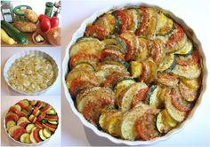 DIY Colorful and Tasty Veggie Spiral Dinner