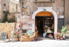 Beautiful store in the Cagliari Old Town, Sardinia