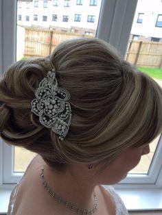 Wedding hair by karin@ SL HAIRDRESSING