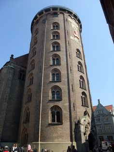 The Round Tower dating from 1642, Copenhagen